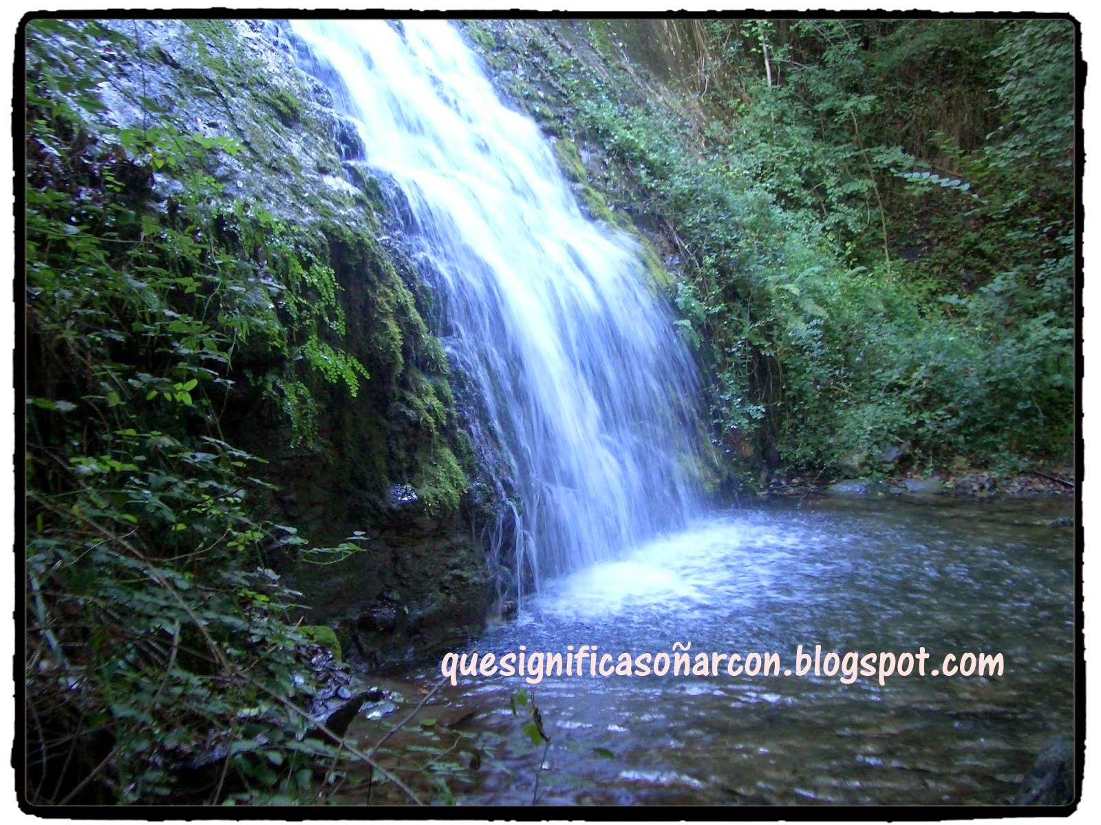 Que significa so ar con cascada que significa so ar con for Motor para cascada de agua
