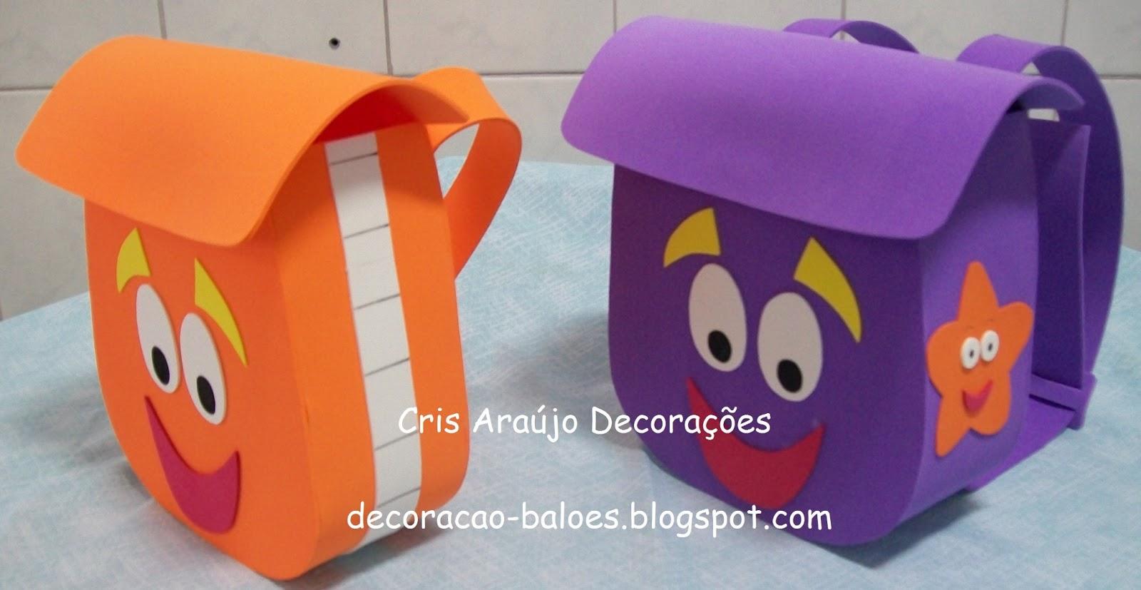 EVA: Mochilas Dora / Diego