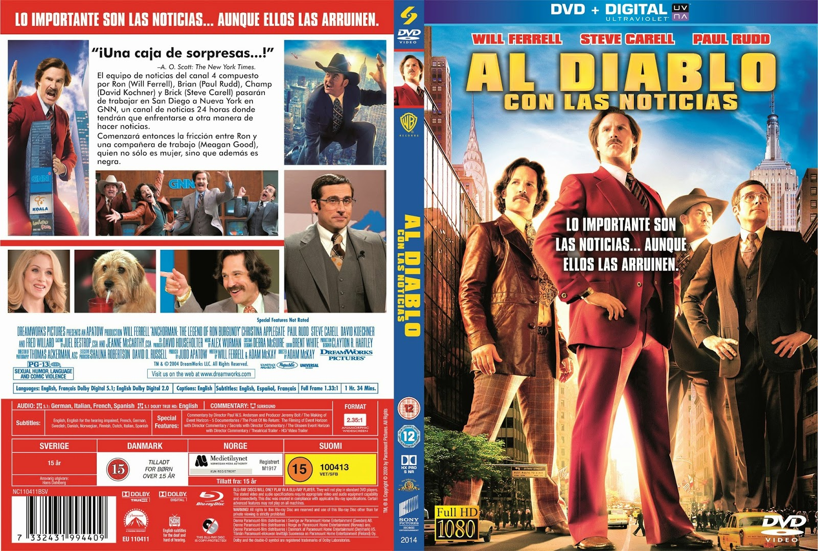 movies world anchorman 2 the legend continues al diablo