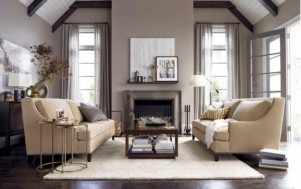 Luxury Design Model Minimalist Living Room