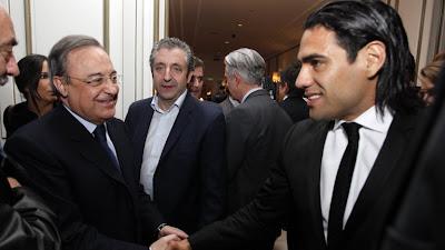 Real Madrid fichará a Falcao con la 'estrategia' que usó con Zidane