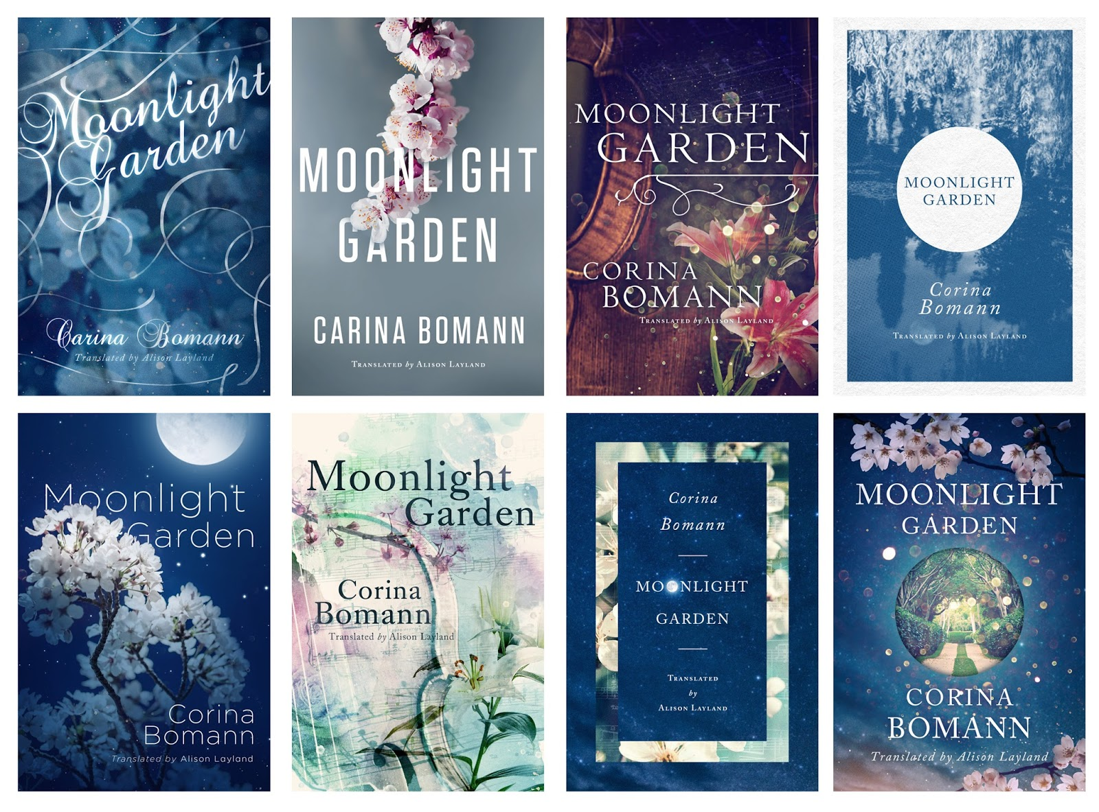 The Moonlit Garden. Out Now On Amazon. Concepts