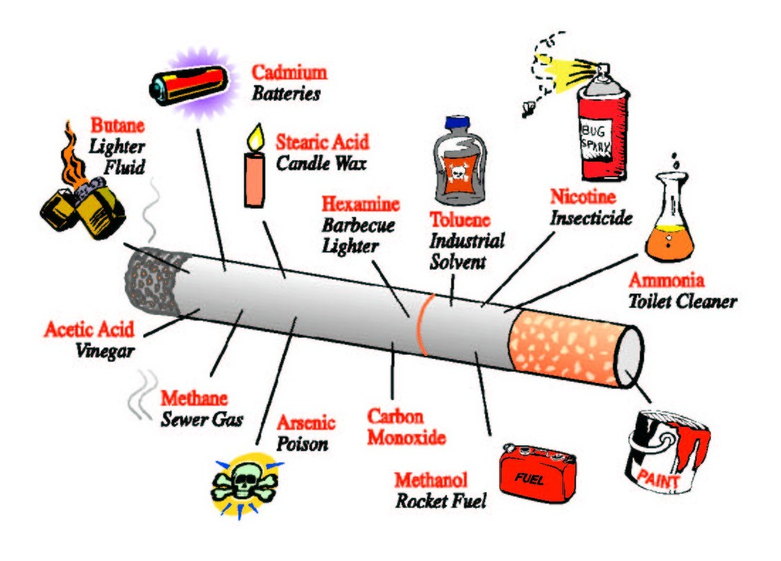 the negative effects of smoking cigarette Health risks of smoking tobacco about half of all americans who keep smoking will die because of the habit health effects of cigarette smoking.