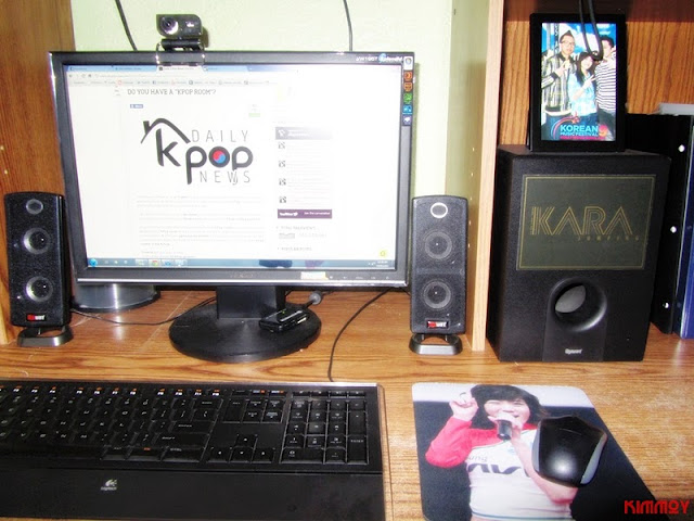 Check out Kim Francis' KPop room,a huge fan of female groups!