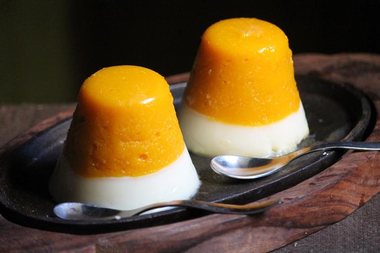 Layered Mango Panna Cotta Recipe