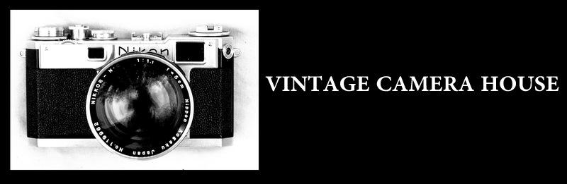 Vintage Camera House