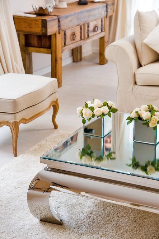 Como decorar e organizar a mesa de centro cores da casa - Decorar mesas de centro ...