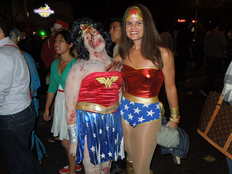 Zombie Wonder Woman West Hollywood Halloween Carnaval