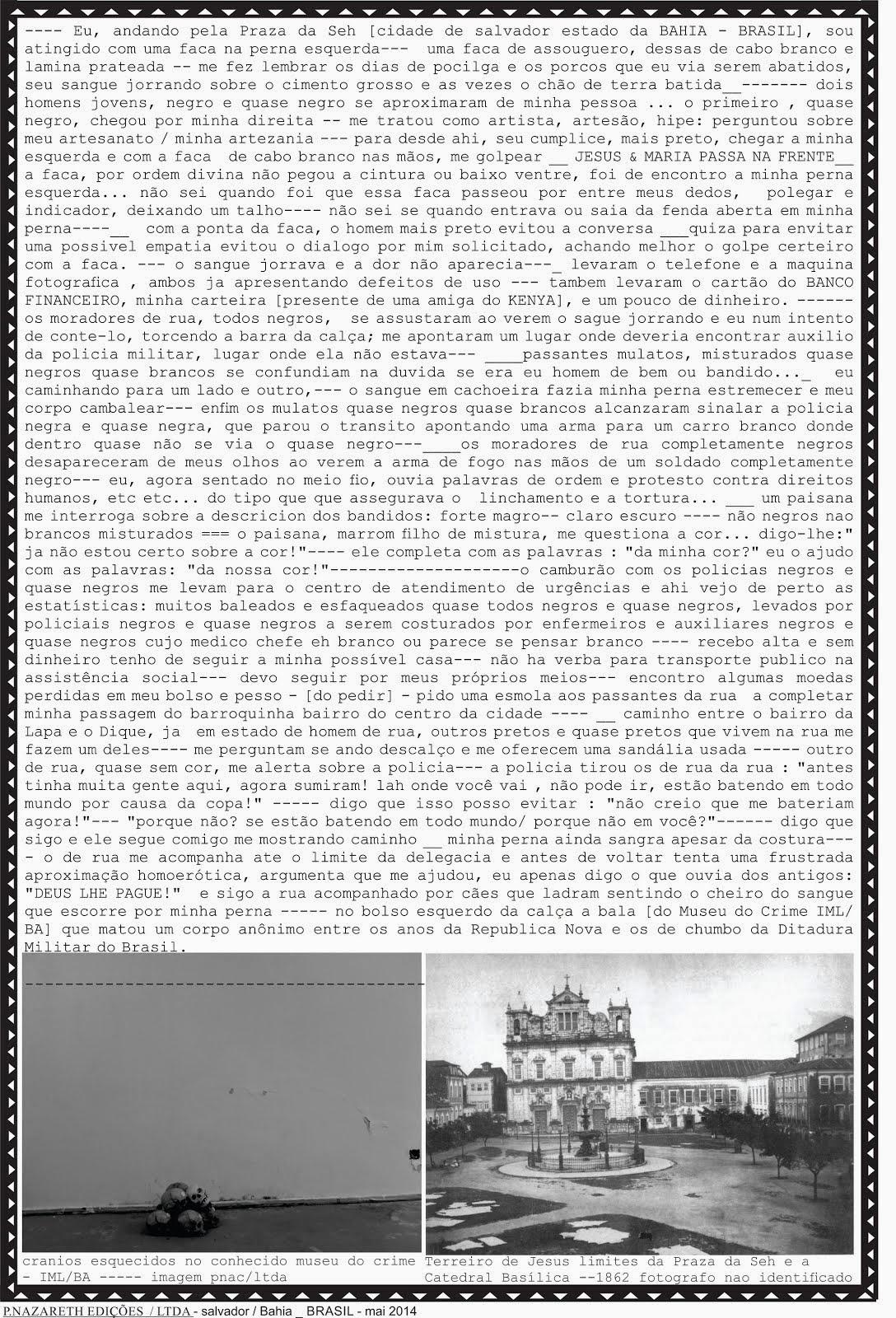 CA _panfleto 02_ salvador - BA / BRASIL