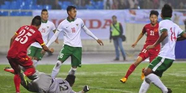 Indonesia Kalah Telak Atas Myanmar Dilaga Perdana Sea Games 2015
