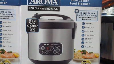 Aroma professional 4 qt rice and slow cooker all in one