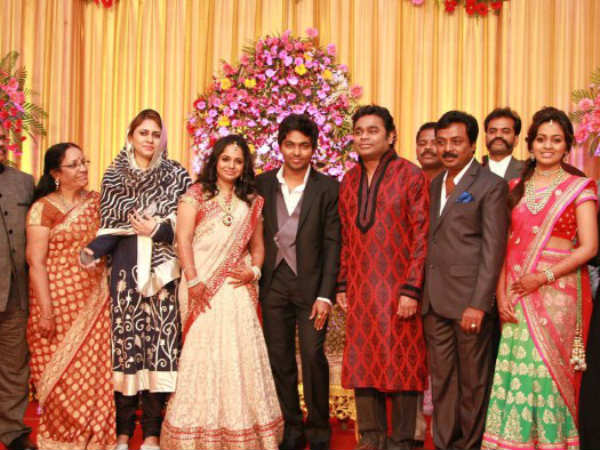 GV Prakash and Saindhavi marriage / reception Photos