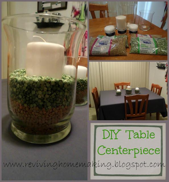 Diy Dining Room Table Centerpiece Ideas