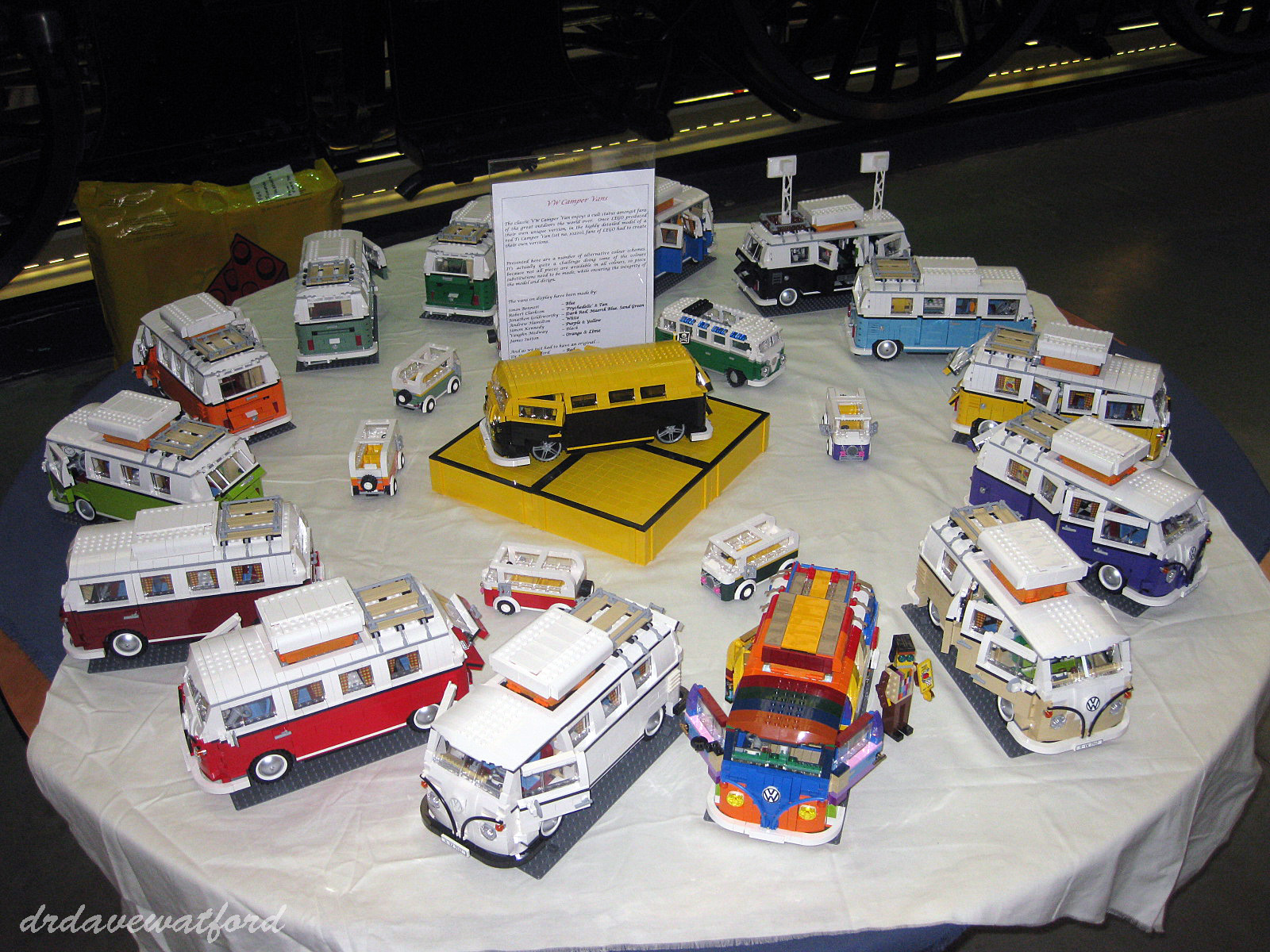 Customizing the vw camper van 10220 brickset forum - Lego brick caravan a record built piece by piece ...