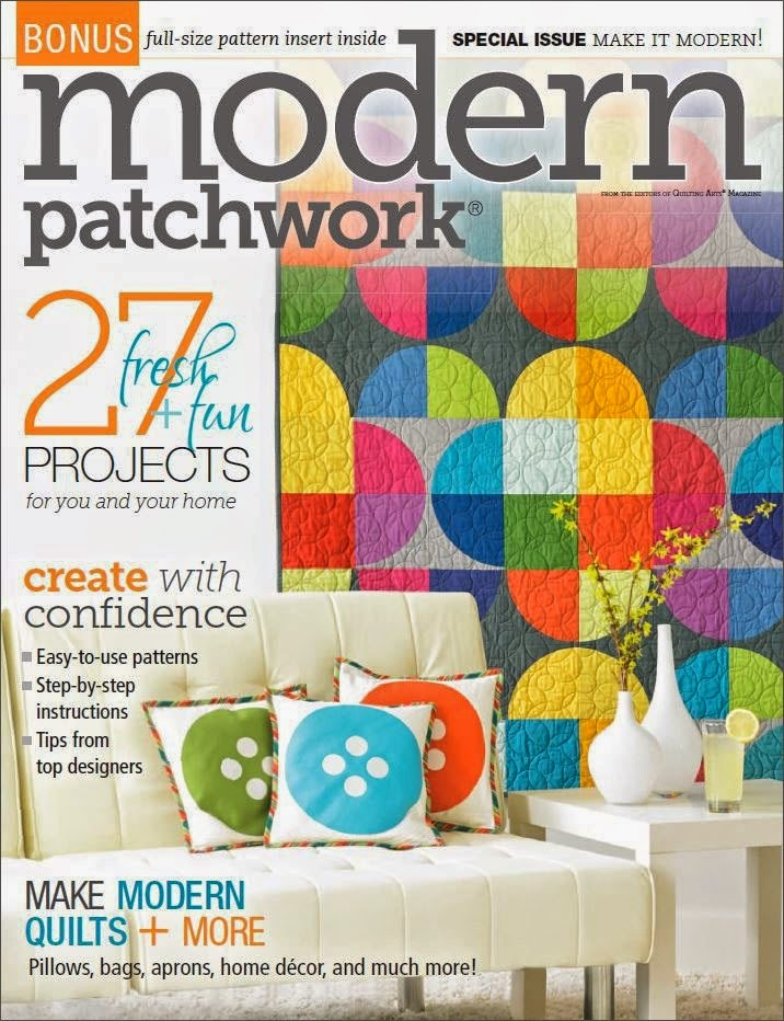 Debby Kratovil Quilts: Modern Patchwork Magazine Preview : make it modern quilt magazine - Adamdwight.com