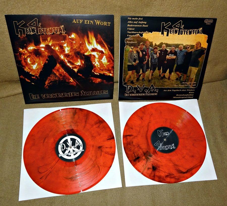 """Split LP """"Auf ein Wort"""" mit D.V.A."""