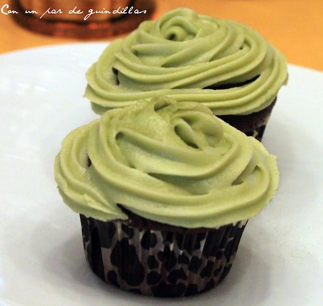 Cupcake de té verde