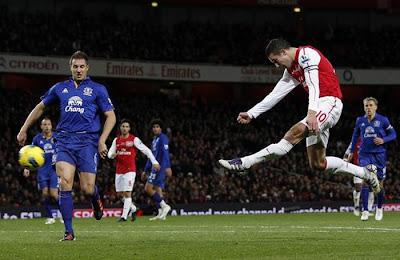 Arsenal 1 - 0 Everton (1)