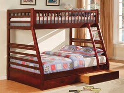 Marvelous A twin over full bunk bed is popular among children and growing teens This configuration is popular with families that have children of different ages
