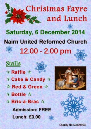 Christmas Fayre 6th December