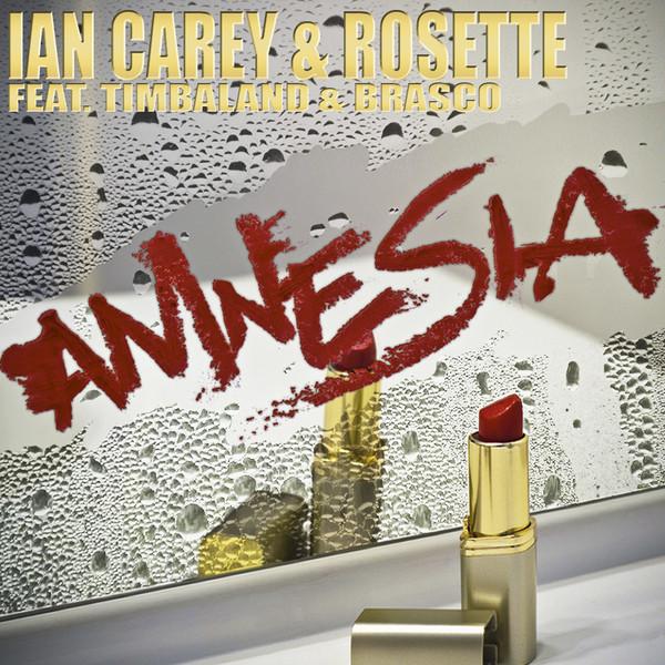 ian carey amnesia cingle cover copertina