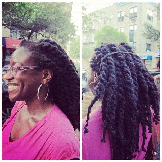 around the way curls, havana twists natural hair