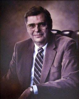 A portrait of Dean Victor Strecher