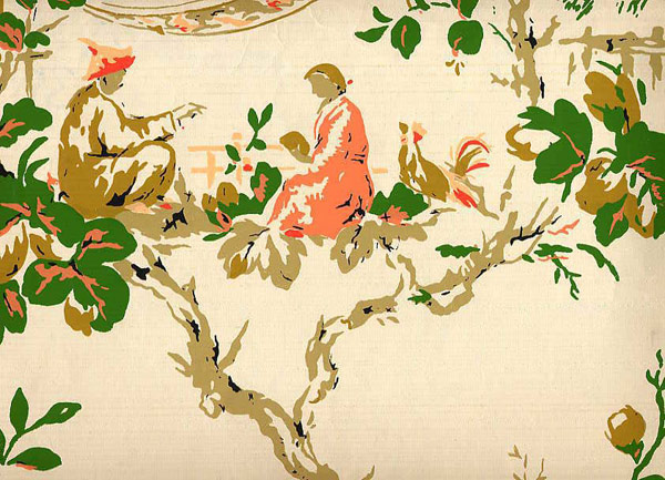 RARE AND UNUSUAL Vintage Wallpaper  Page 1  Secondhand Rose