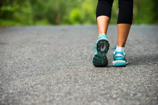 المشي طريقة جيدة لتخسيس وانقاص الوزن