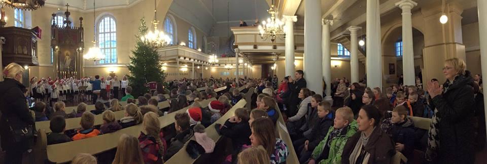 Kontseri Elisabethi kirikus - head vaheaega=)