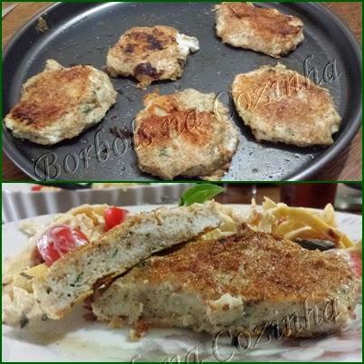 hambúrguer de peixe low carb