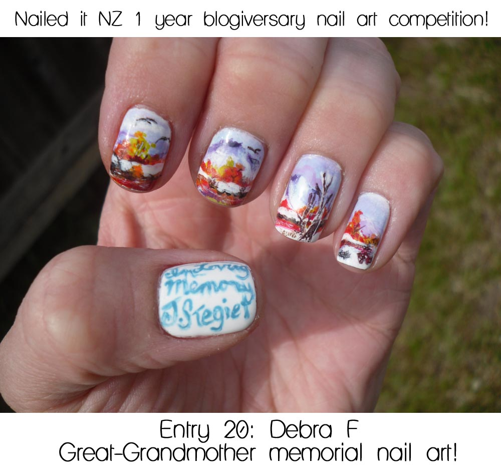 Announcing the winners of my nail art competition and giveaway!