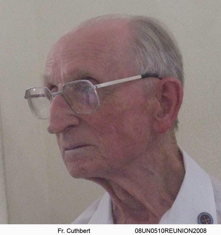 Fr Cuthbert, 2008
