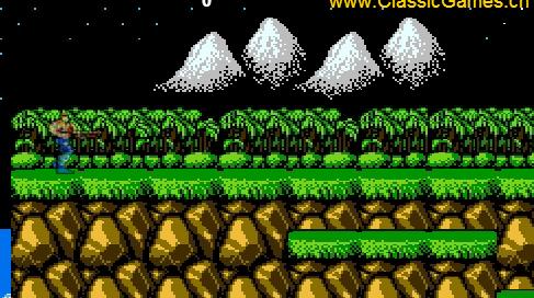 game contra, chơi game kinh điển contra online tại GameVui.biz