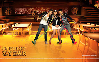 Student Of The Year HD Wallpaper Hot Alia Bhatt, Varun Dhawan, Sidharth Malhotra