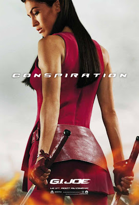 G.I. Joe: Retaliation International Character Movie Poster Set 1 - Elodie Yung as Jinx