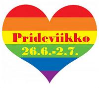 Prideviikon lukutempaus (26.6.-2.7.2017)