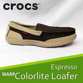 crocs warp colorlite loafer men