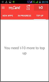 Top up Balance