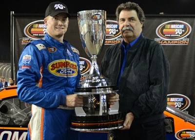 Derek Thorn wins the K&N Pro Series West Championship