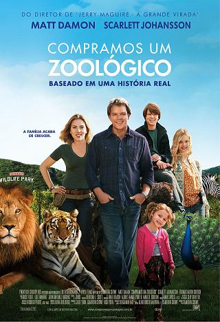 filme compramos um zoológico matt damon scarlett johansson poster cartaz