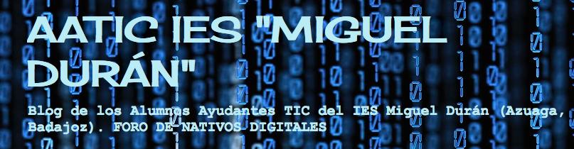 ALUMNOS/AS AYUDANTES TIC