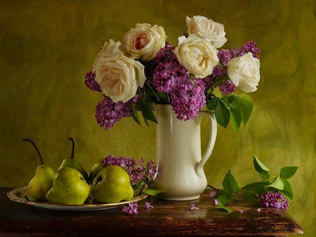 Im genes arte pinturas jarrones hiperrealistas pintados - Fotos jarrones con flores ...