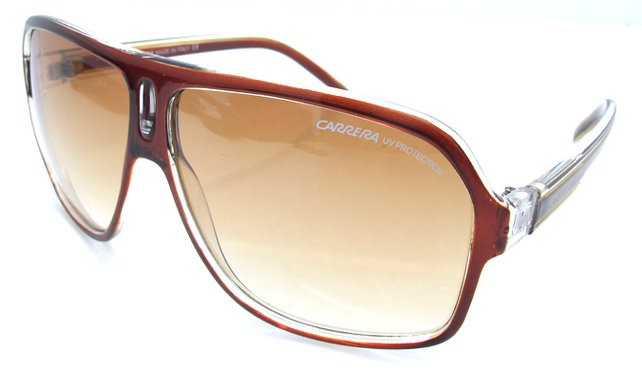 fcc397355a76c Tatushka Store  Óculos de sol massa castanhos Carrera - NOVOS - 32€