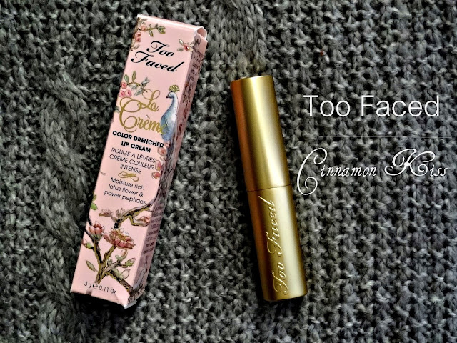 Too Faced La Creme Color Drenched Lip Cream in Cinnamon Kiss