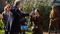 Doctor Who The Girl Who Died Behind the Scenes Maisie Williams