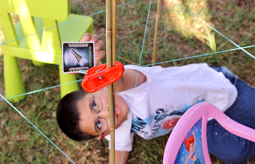 Chrono Bomb makes a great party game when all guests are involved in the hiding of 'gear' cards- You can even bring the game outdoors for secret agent fun!