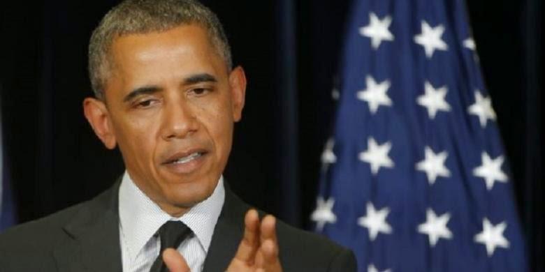 Presiden Amerika Serikat yang rambutnya semakin memutih / beruban, diduga karena stres.