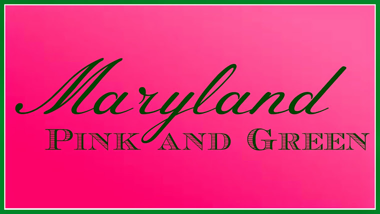 Maryland Pink and Green
