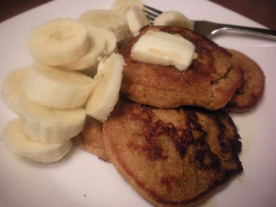 Gluten free sweet potato pancakes